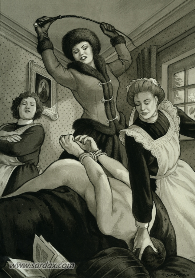 This masterly Sardax image could get me into the fur fetish myself!