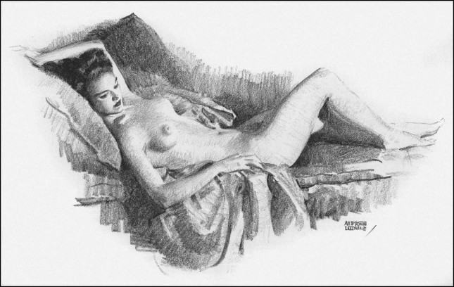 Fun with a pencil, indeed, although this is from Figure Drawing For All It's Worth.