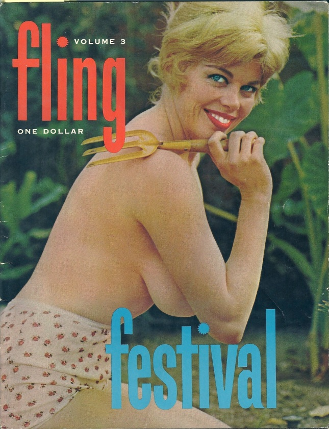 Covergirl Shirley Quimby was popular in the early 60s...which is easy to understand!