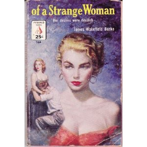 This cover accurately captures its femme fatale character & enslaved hero!