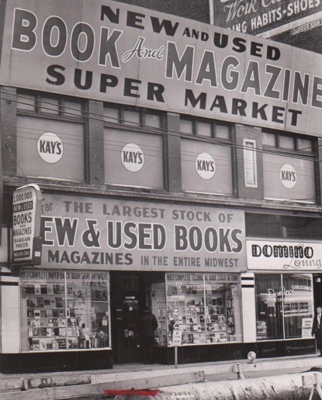 I remember stacks and stacks of old pulps mags for 25¢ each! Too bad I wasn't interested in pulps then.