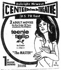 This is a movie I saw at the Standard circa 1970. (The ad is from a Raleigh NC paper, tho.)