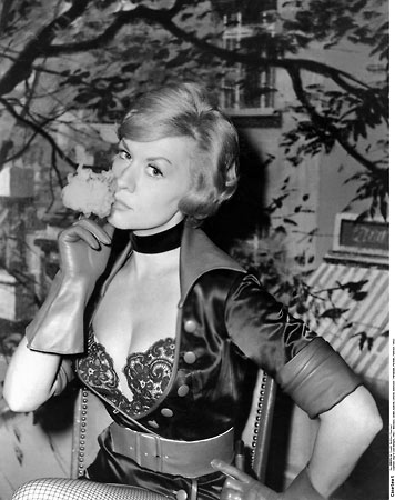 Here's a portrait of Ingrid in her costume from the film.