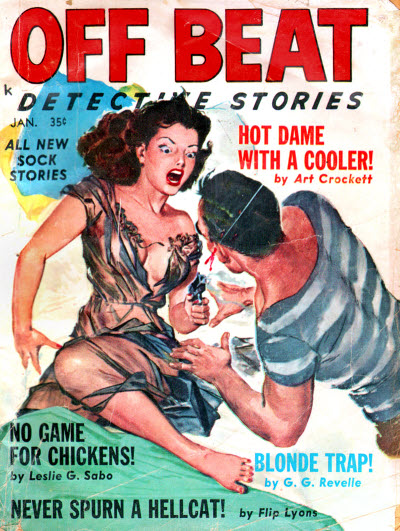 OFF BEAT Detective Jan1960