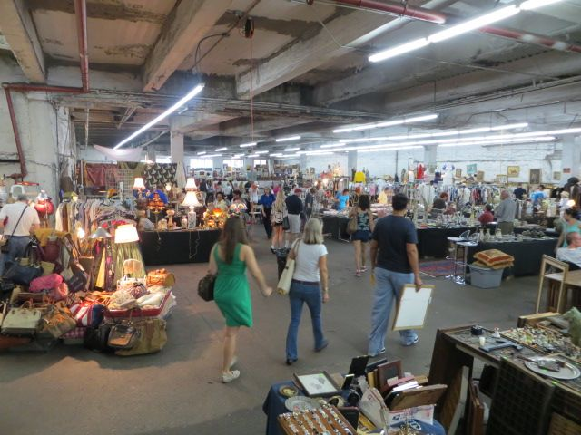 Always a fun place to browse. Some vendors will relocate to an outdoor market nearby.