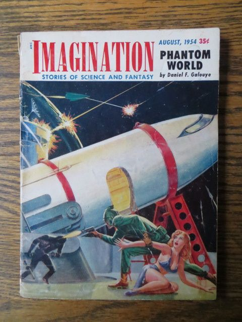 I'm reading a story in this now about a burlesque dancer in outer space!