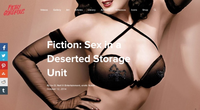 Savor the multimedia presentation of this story, complete with Bettie Page movie clips!