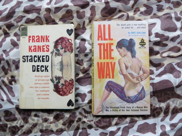 Michael Avallone and Frank Kane provided great entertainment in their various paperback novels.