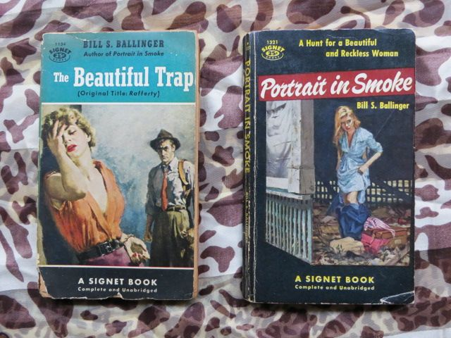 These 1950s noir novels explore seamy passions and dark desires of greed & twisted love.