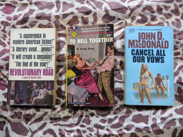 "These ""domestic strife novels"" from 50s and 60s deal not with crimes as much as messed-up relationships."