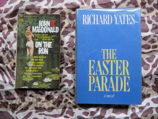 "I enjoy moving from so called so-called ""paperback"" or ""pulp fiction"" novels like John D. MacDonald's to ""literary"" novels like those of Richard Yates."