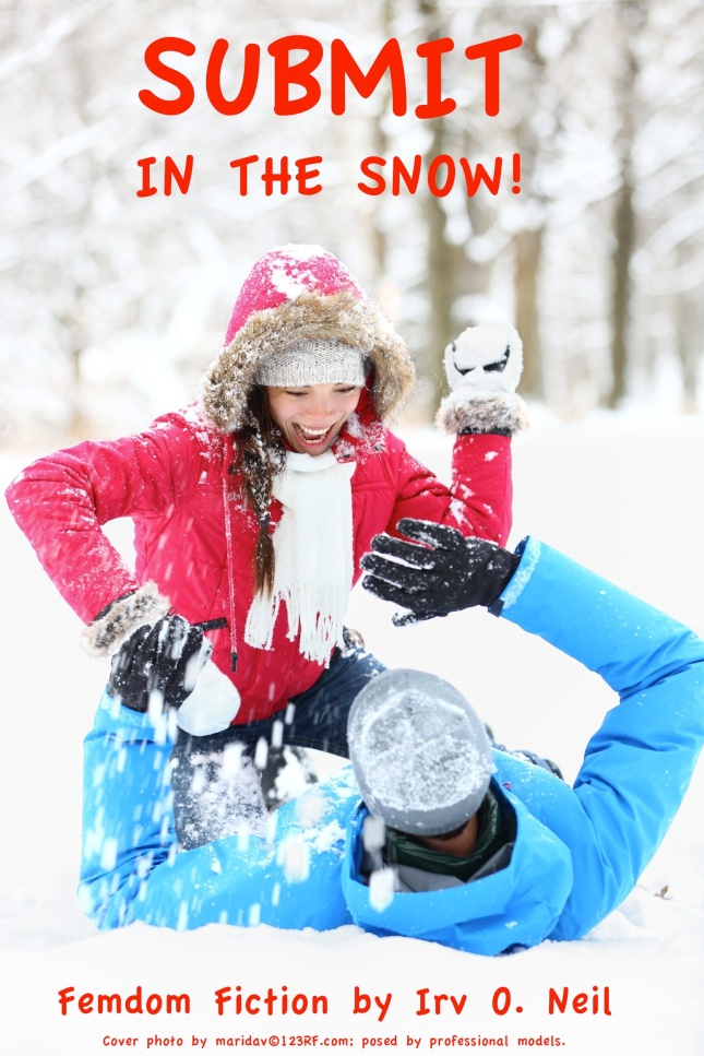 A lighthearted very short story about a guy who likes girls to get aggressive with snowballs!