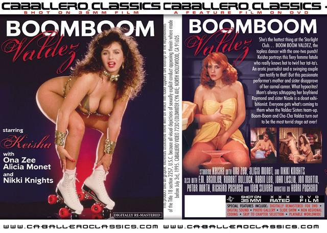Notice how the disc box has a much more peppy photo of Keisha? She looks so serious on the VHS cover!